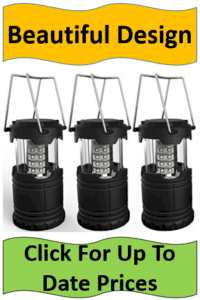 Trio black outdoor lanterns
