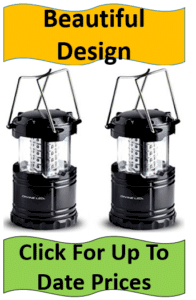pair black lanterns with metal handles