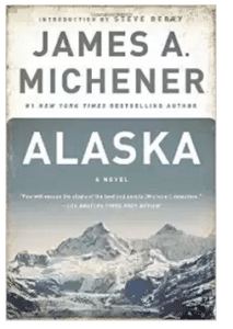 James Michener Alaska book cover