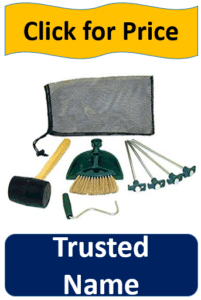 mallet, stakes, tent kit