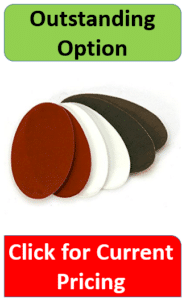 brown, white, green fabric flaps
