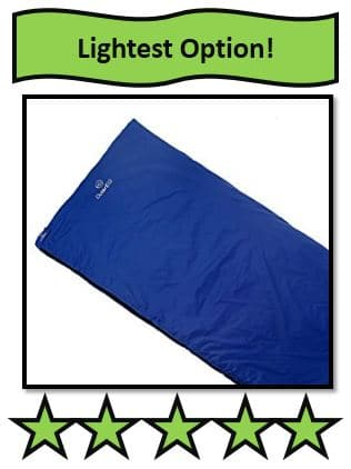 OuterEQ Camping Sleeping Bag – 1.5 pounds - the lightest sleeping bags