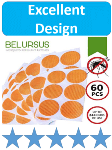 orange anti mosquito patches