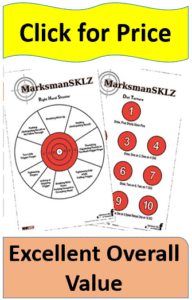 two diagnostic shooting targets