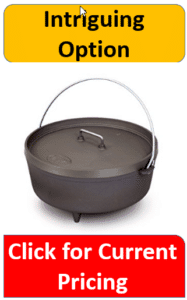 Anodized aluminum dutch oven