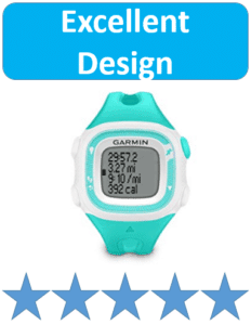 blue teal runners watch