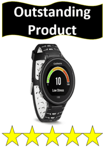 black runner gps watch
