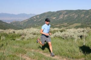 trail runner Wyoming