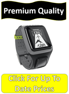 grey runner GPS watch