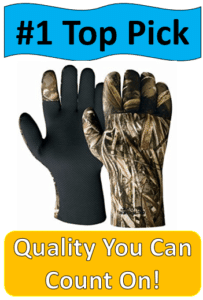 camo hunting gloves