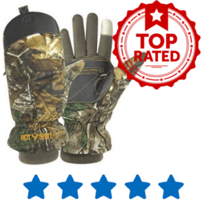 High end hunting gloves