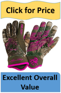 womens winter hunting gloves