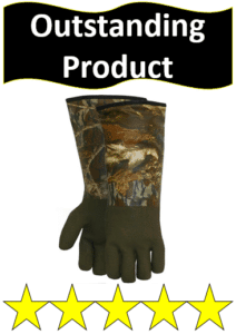 mossy oak winter hunting gloves