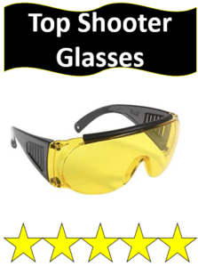yellow lens shooting glasses