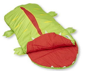 alligator sleeping bag for kids