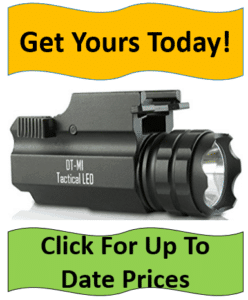 tactical LED gun flashlight
