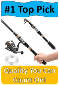 plusinno telescopic fishing rod extended