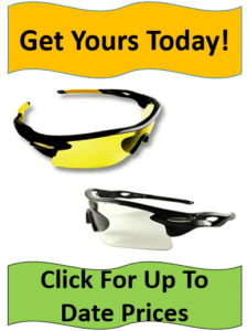 yellow and clear shooting glasses
