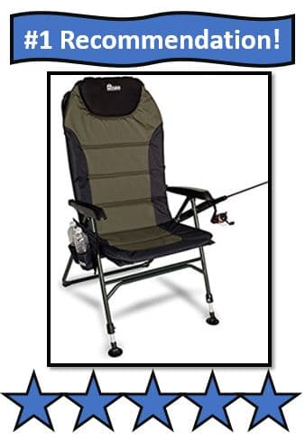 Earth Products Adjustable Fishing Chair - #1 Best Portable Fishing Chairs