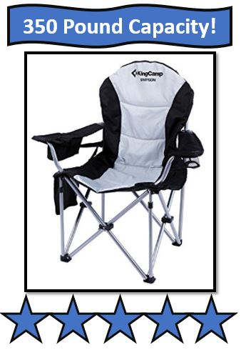 KingCamp Folding Quad Chair - great large portable fishing chair