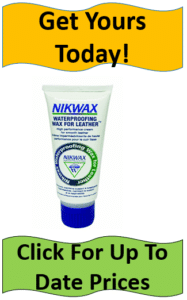 Nikwax leather waterproofing container