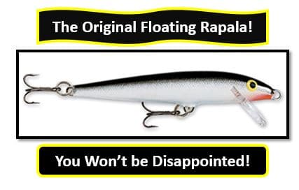 Original Floating Rapala - best northern pike fishing lures