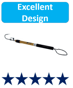 telescopic gaff hook for fishing