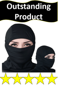 two women in ski balaclavas