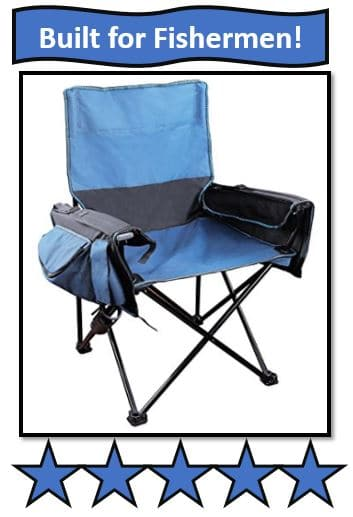 Stansport Deluxe Utility Arm Chair