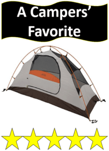 gray one person ALPS tent