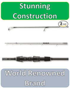 three pieces of most expensive carp rod