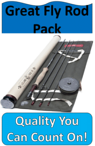 Fly rods and reel on roll up container tarp