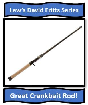 Lew's David Fritts Series - Great northern pike crankbait fishing rods