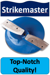 blue and silver ice auger replacement blade