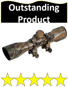 camo hunting crossbow scope