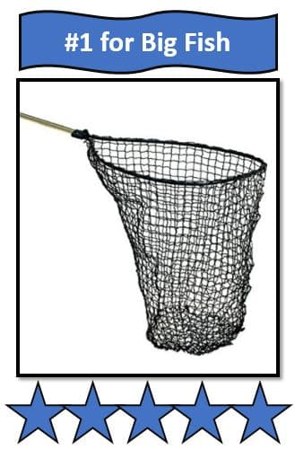 Frabill 8450 Power Catch Big Kahuna Teardrop Landing Net - Great northern pike fishing net