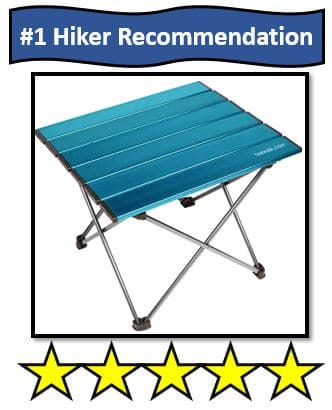 Trekology Portable Camping Tables - best portable camping table