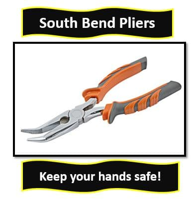 South Bend Bent Nose Pliers, 8-Inch