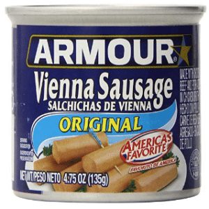 blue tin original vienna sausages