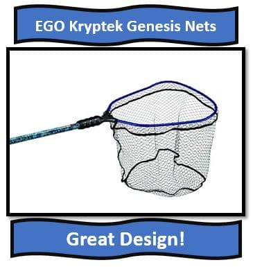 EGO Kryptek Walleye fishing nets - Best Fishing Nets for Walleye Fishing