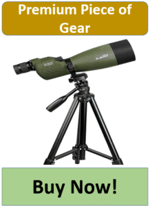 green SVBONY spotting scope