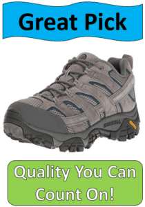 Merrell gray hiking shoe
