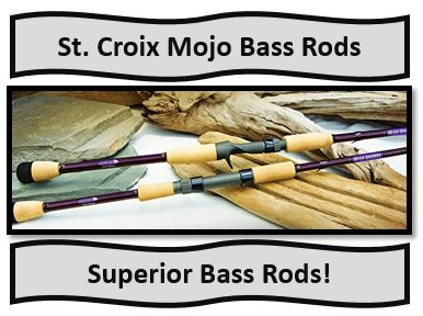 St. Croix Mojo Bass Rods