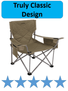 tan ALPS mountaineering camping chair