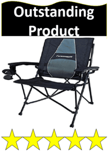 purple camping folding chair