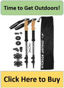 corked ultralight hiking poles