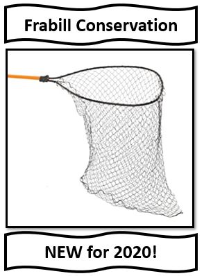Frabill Deep Conservation Fishing Net - new for 2020
