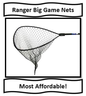 The Ranger Big Game Musky Landing Nets