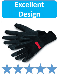 black rapala ice fishing gloves