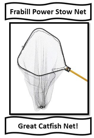 The best fishing nets for catfish fishing - Frabill Power Stow